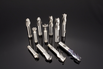 HSCo Flatted Shank Corner Rounding Cutters (DIN 6518)