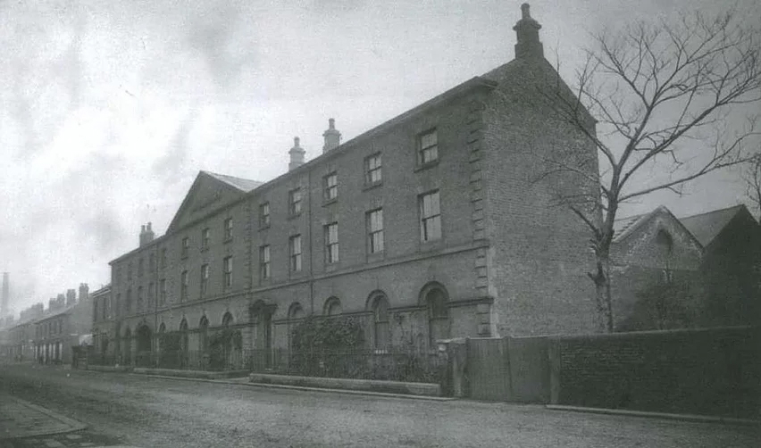 The firm's Albert Works prior to 1900.