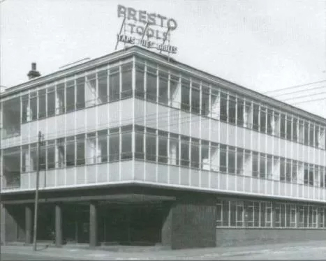 The firm's new administration block completed in December 1961.