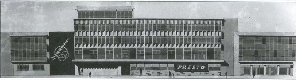 The firm's premises on Penistone Road pictured in 1963.